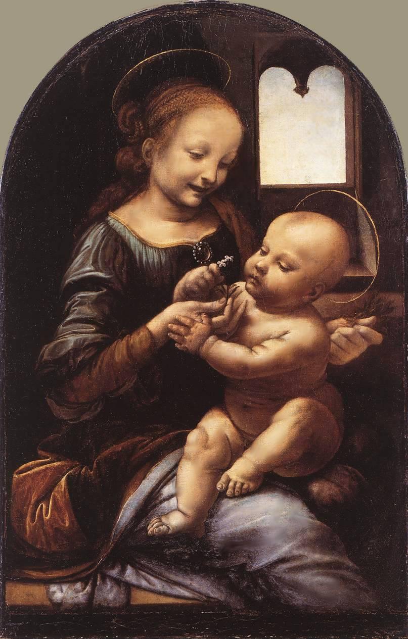 Мадонна в живописи леонардо да винчи